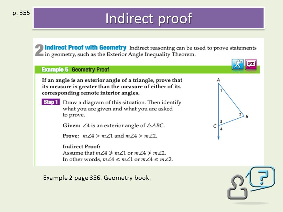 53 Inequalities in One Triangle 54 Indirect proof 55 The – Triangle Inequality Theorem Worksheet