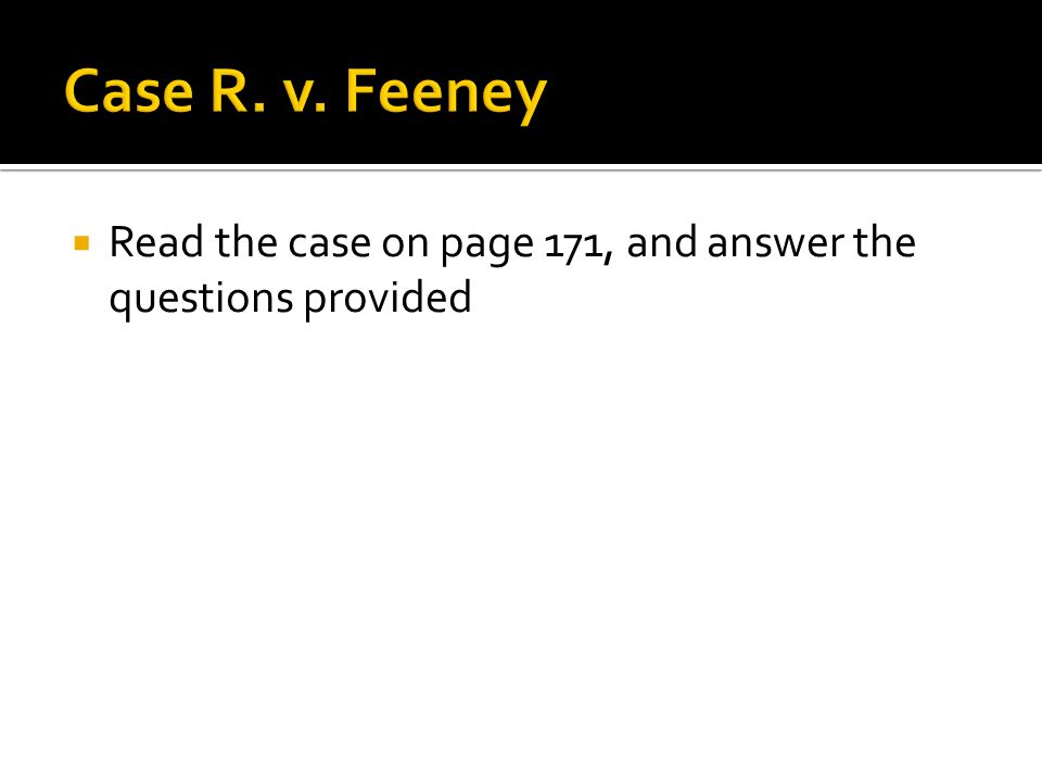  Read the case on page 171, and answer the questions provided
