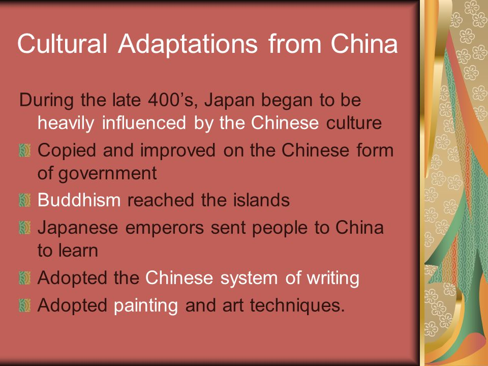Feudalism in Japan The color is white. Background The ancestors of ...