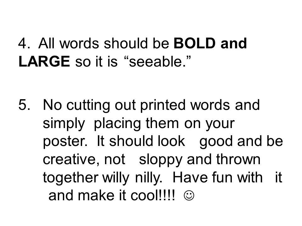 cool creative words