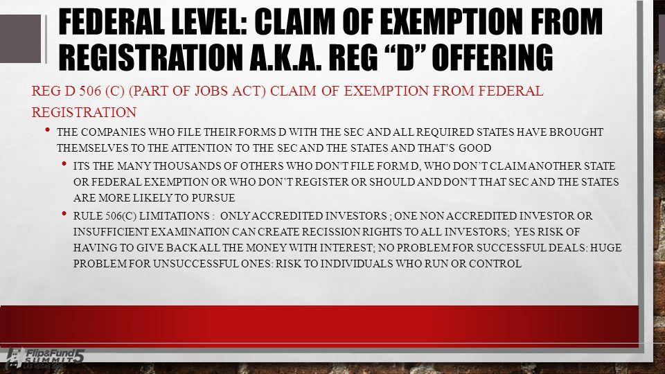 PRIVATE EQUITY & SEC REGULATIONS JOSH CANTWELL & JOE CARNEY, ESQ ...