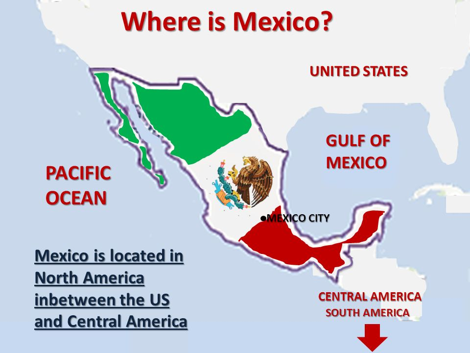 Mexico A Presentation By Jake Hayward Where Is Mexico UNITED - Where is mexico