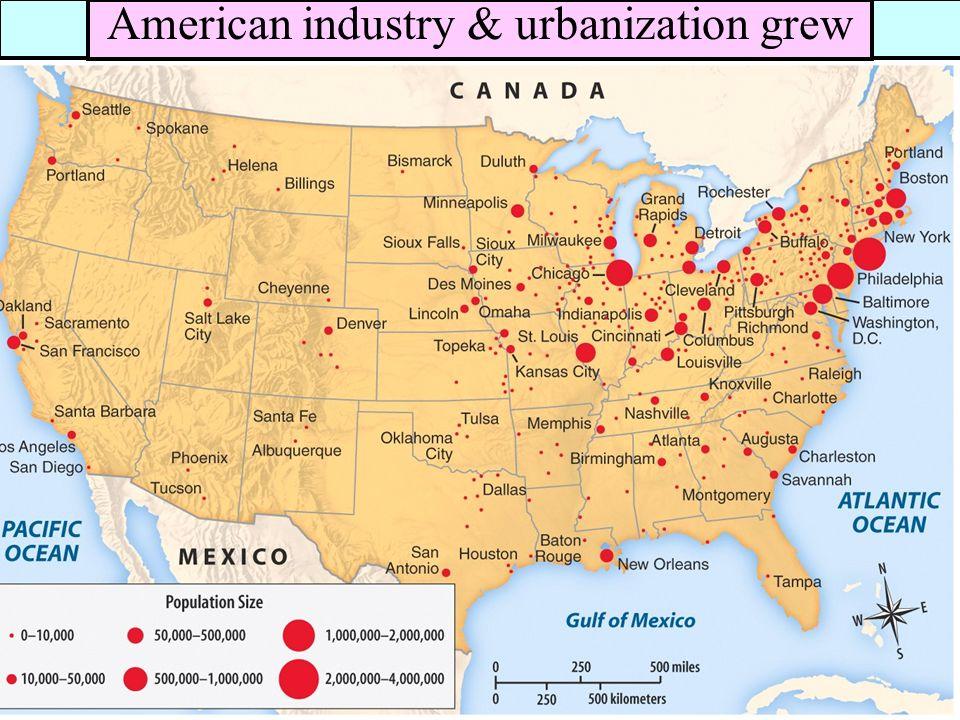 7 railroads steel oil companies formed america s first monopolies american industry urbanization grew