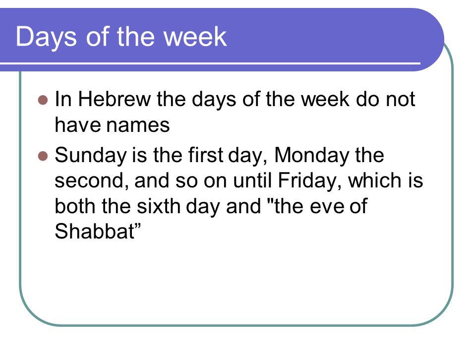 Sabbath biblical origins creation narrative 7 days of creation 3 days sciox Image collections
