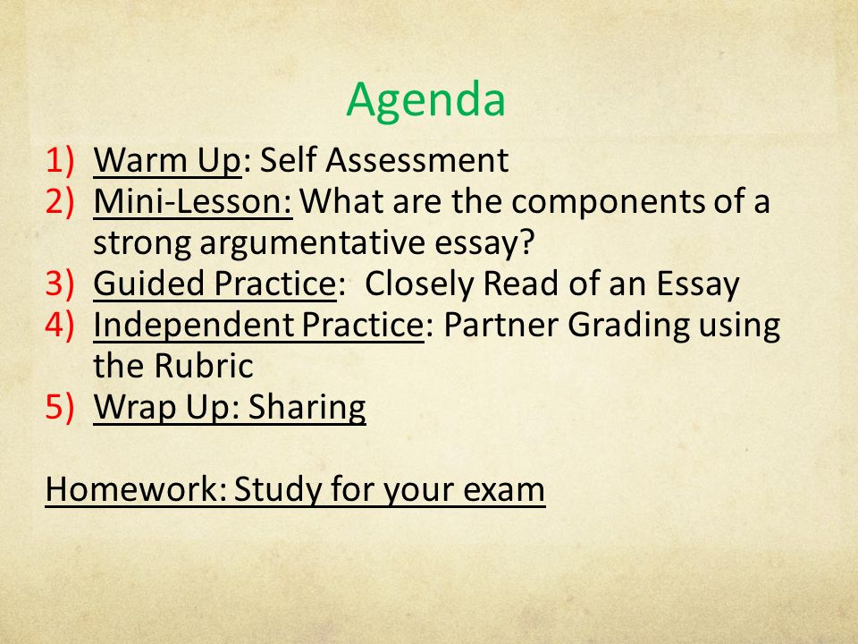 date aim what are the components of a strong  3 agenda