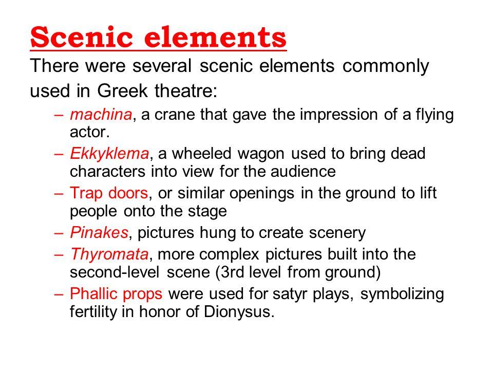 elements of greek tragedy