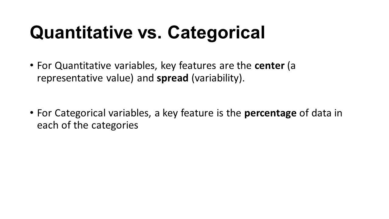 7 Quantitative vs.