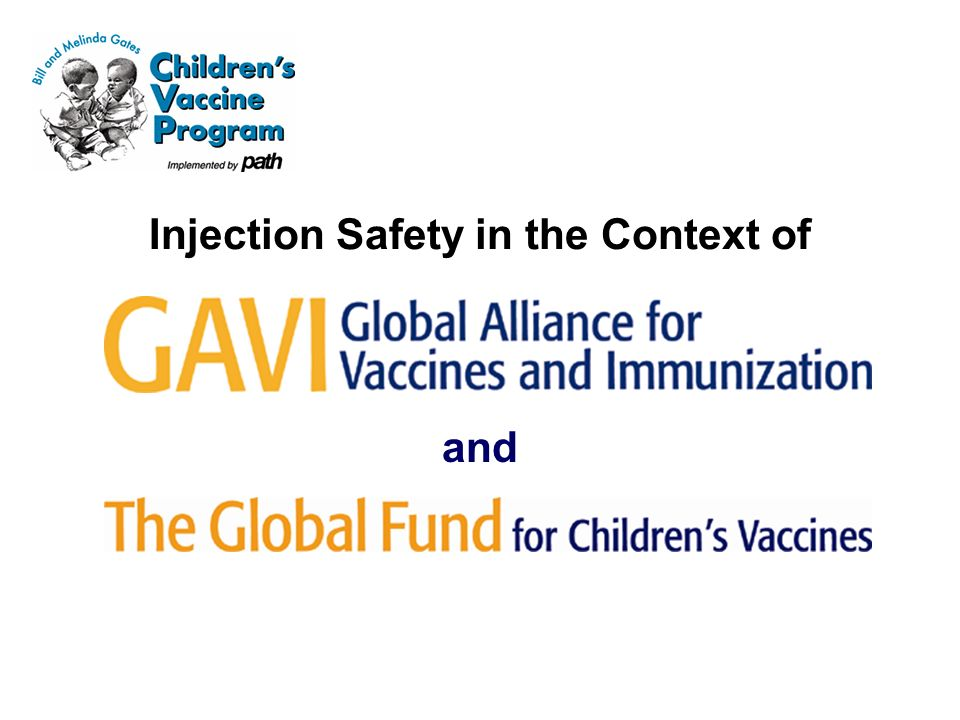 Injection Safety in the Context of and