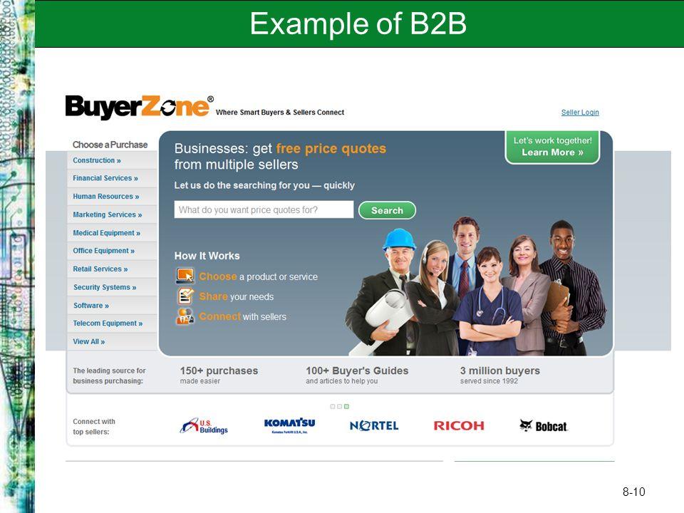 8-10 Example of B2B