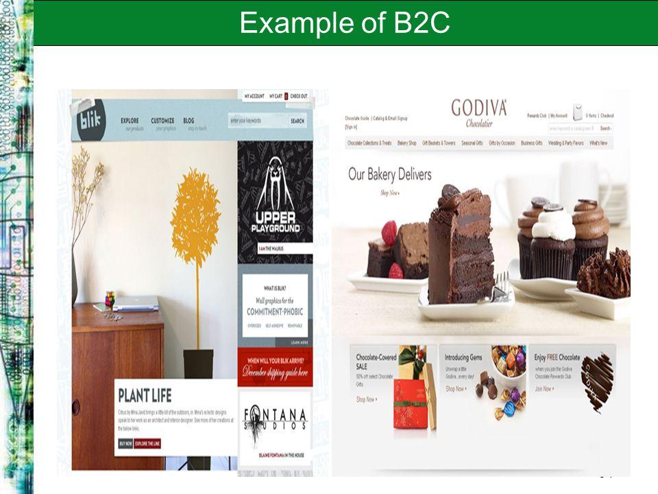 8-7 Example of B2C