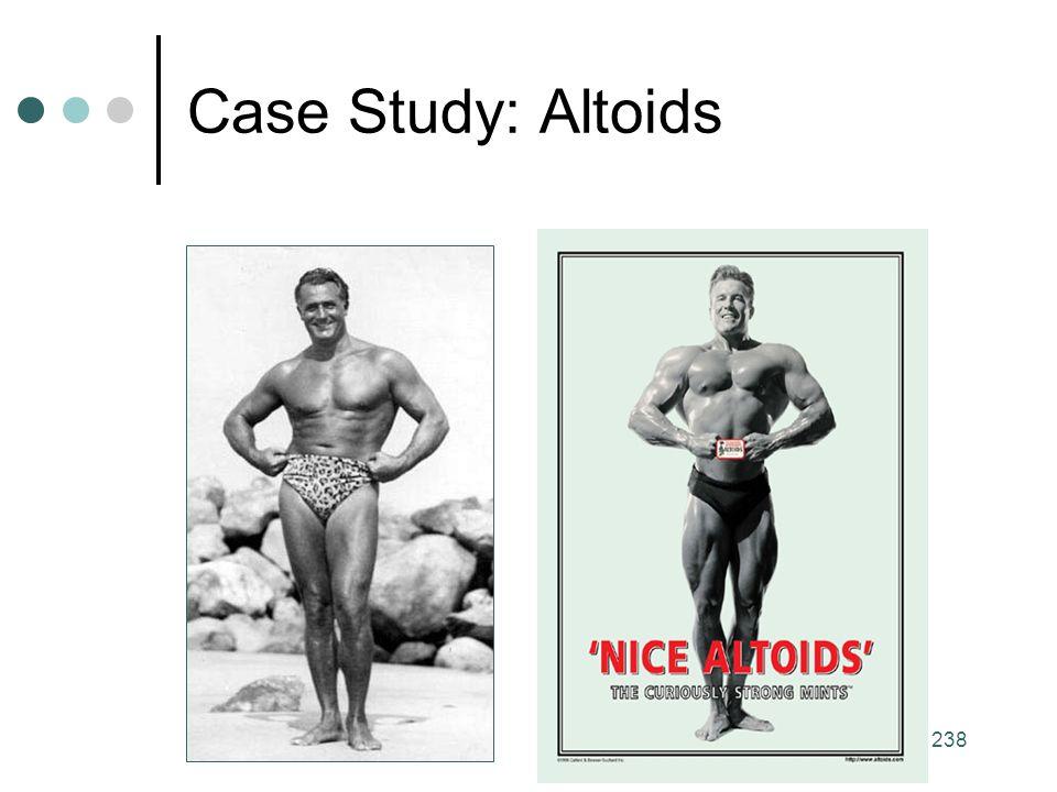 238 Case Study: Altoids