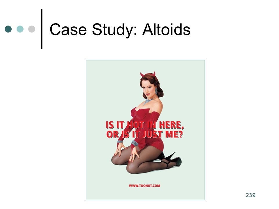 239 Case Study: Altoids