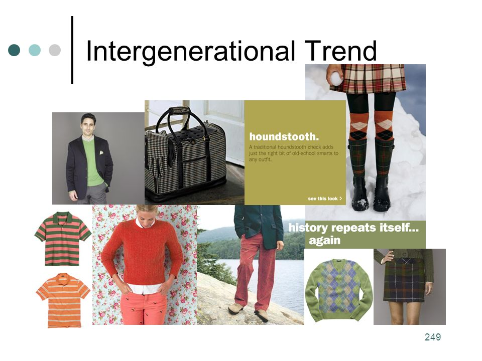 249 Intergenerational Trend