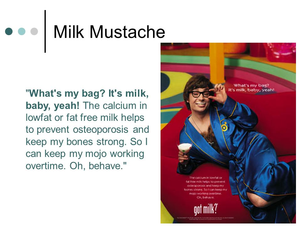 278 What s my bag. It s milk, baby, yeah.