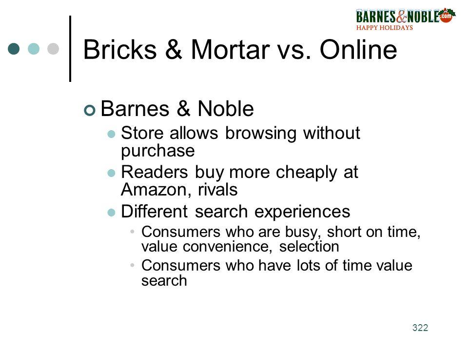 322 Bricks & Mortar vs.