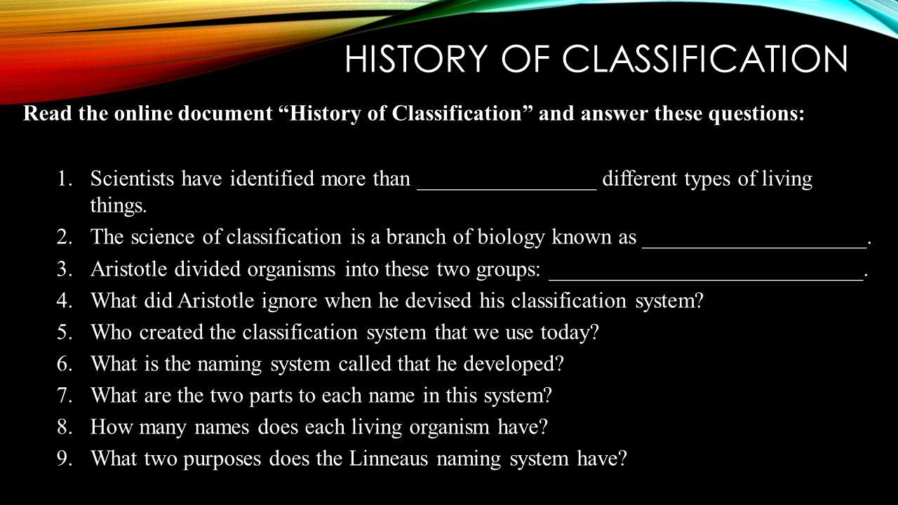 4 HISTORY ...
