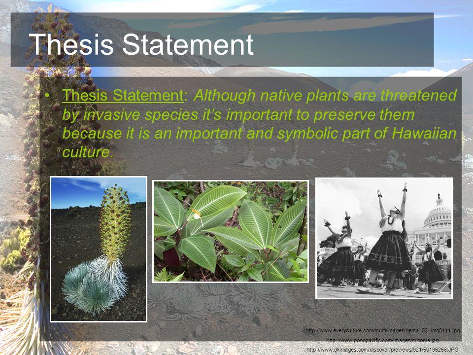 invasive species thesis