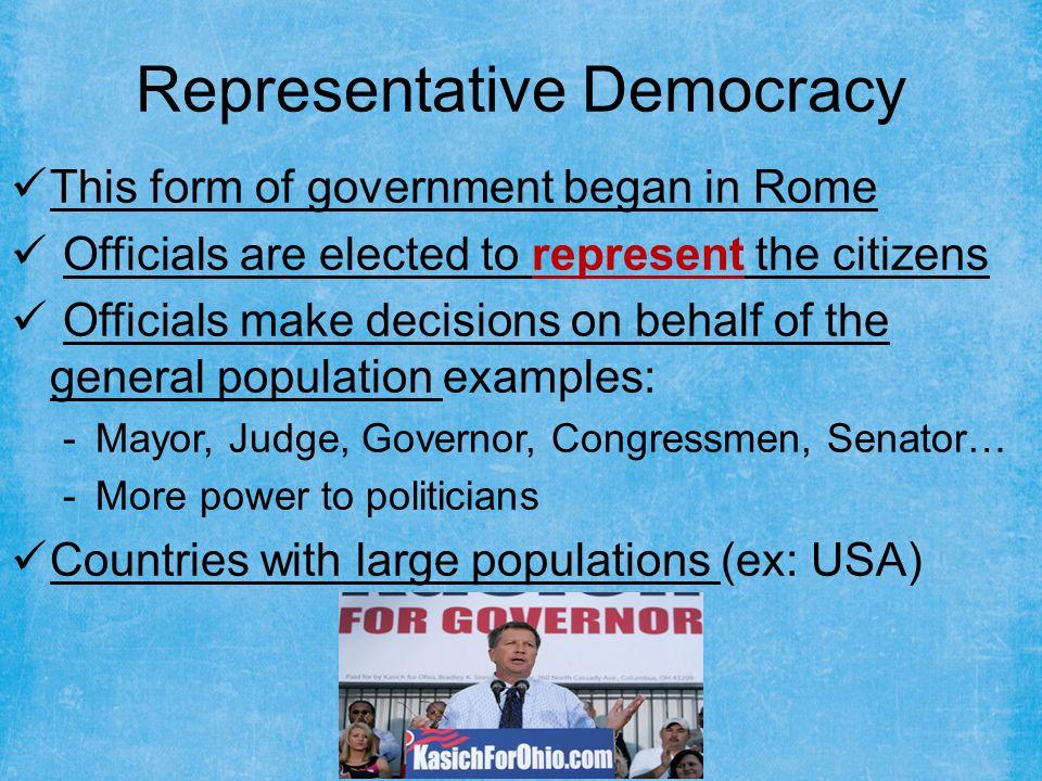 DEMOCRACY. Development of Democracy  Democracy is the most ...