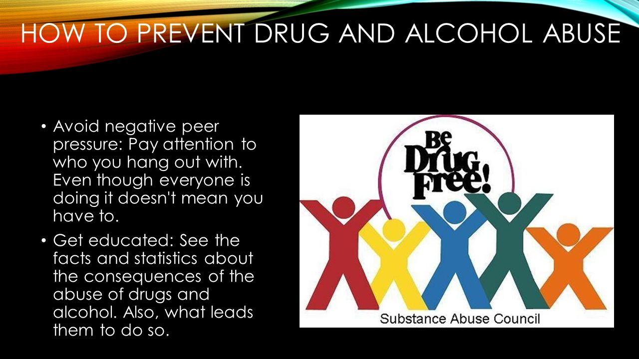 """a study of the negative impact of alcohol and drug abuse """"the effect of religion on alcohol, drug the study showed a significantly negative relationship in drug all predict less alcohol and drug use/abuse among."""
