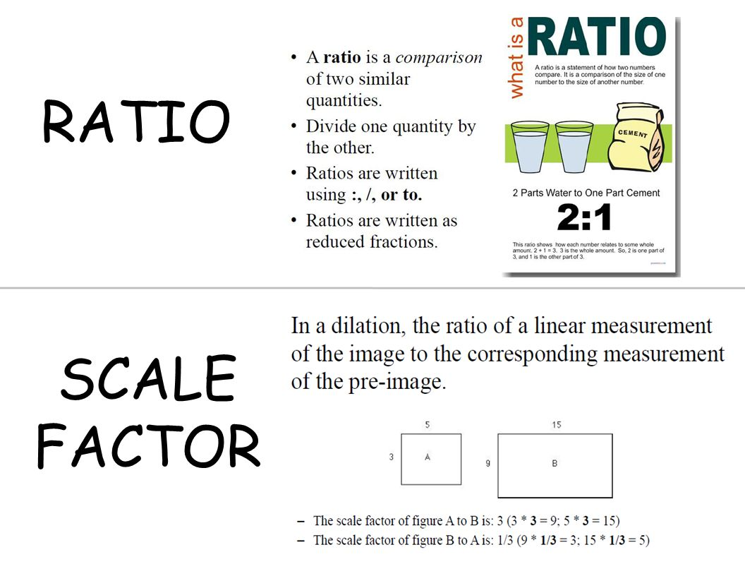 Dilations and scale factors independent practice worksheet answers