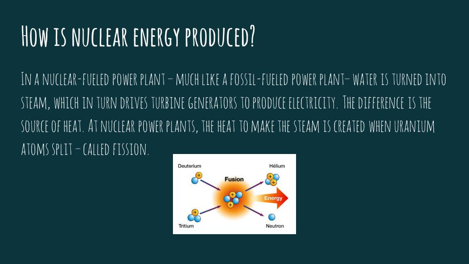 is nuclear energy answer to the