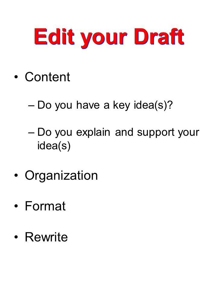 Need to write an essay.. need IDEA's!!!!! PLZ!?