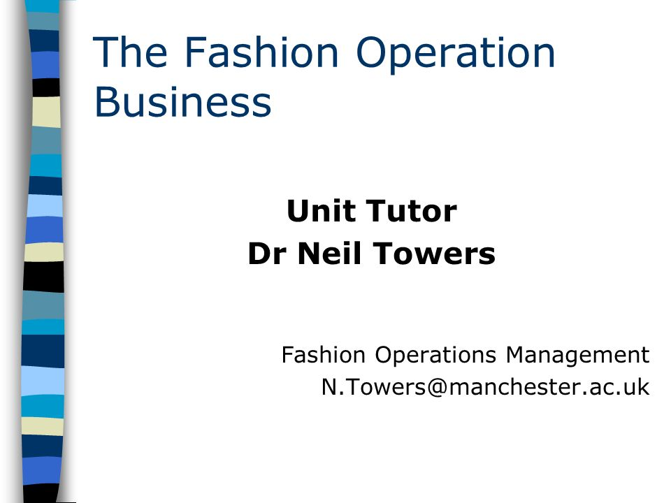 operations management statement of purpose