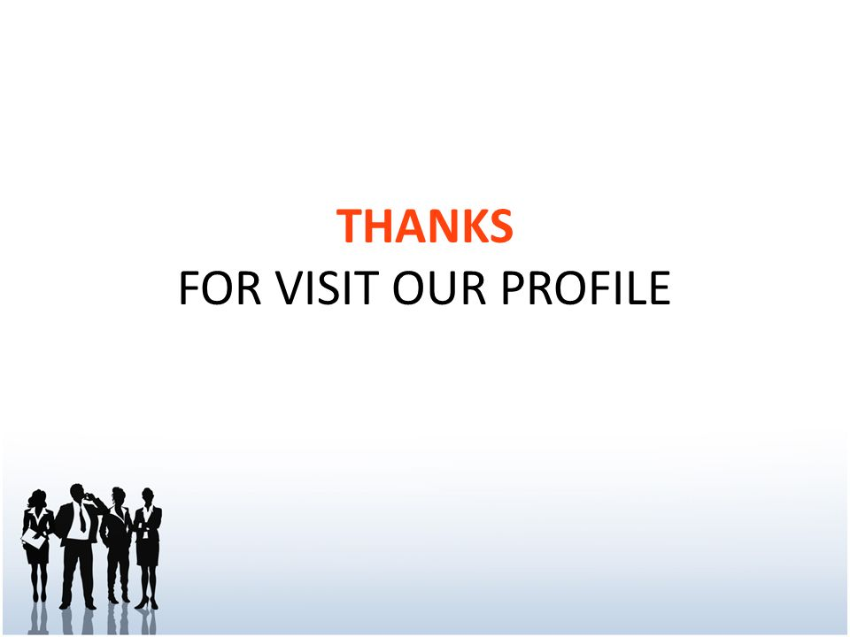 THANKS FOR VISIT OUR PROFILE