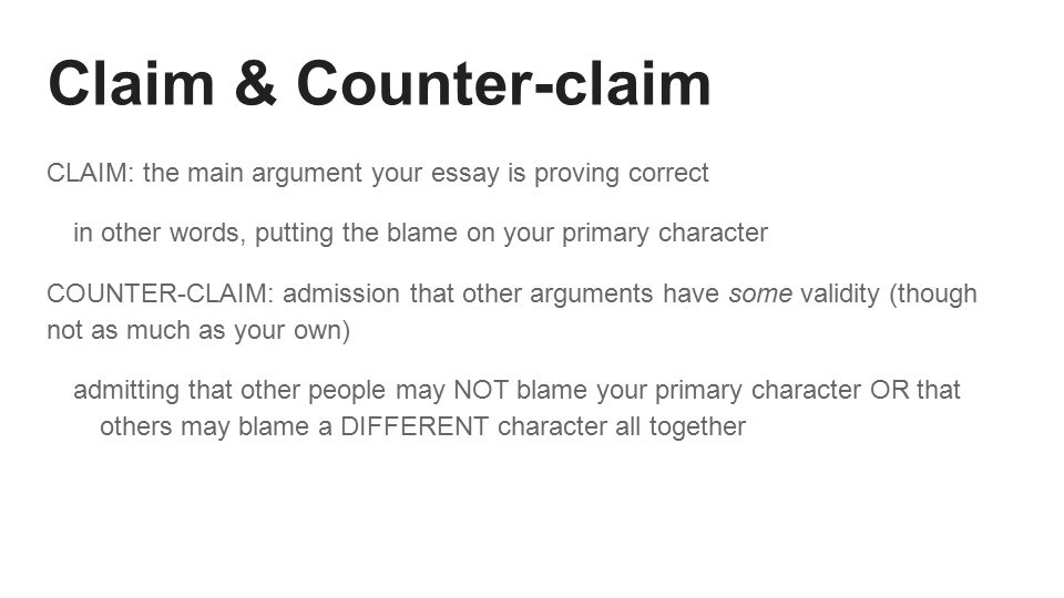 counter argument example counter argument academic writing i romeo and juliet essay thesis a dance me cyndi dorber