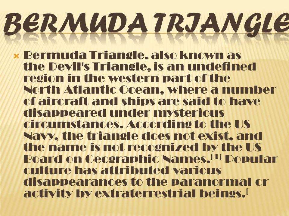 mystery of bermuda triangle iuml bermuda triangle also known as the 3 iuml131146 mystery of bermuda triangle