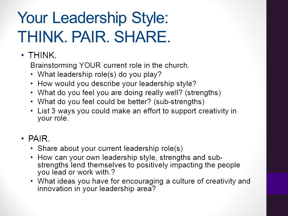 47 your leadership style - How Would You Describe Your Leadership Style
