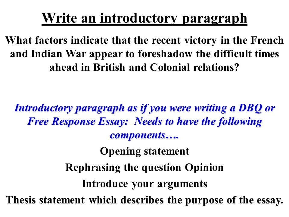 2004 french and indian war dbq essay Dbq french and indian war essays: over 180,000 dbq french and indian war essays, dbq french and indian war term papers, dbq french and indian war research paper, book reports 184 990 essays, term and research papers available for unlimited access.