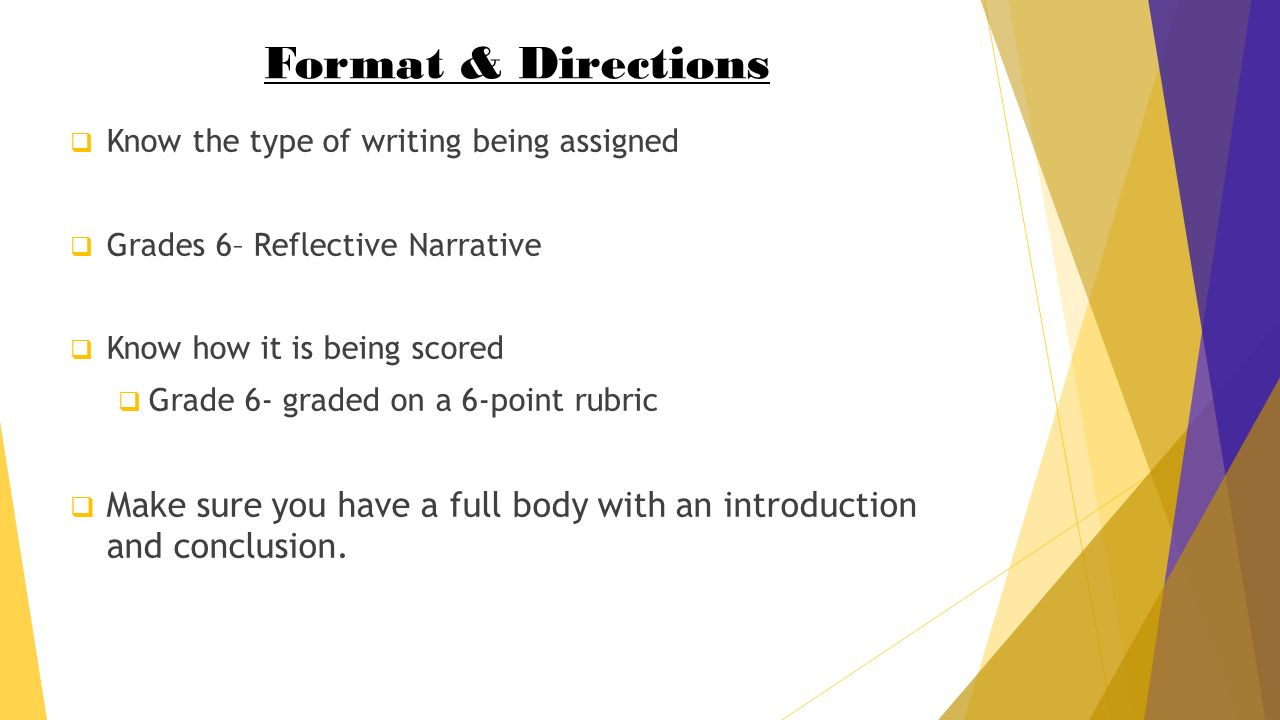 how to write a winning reflective narrative essay in 30 minutes 2 format