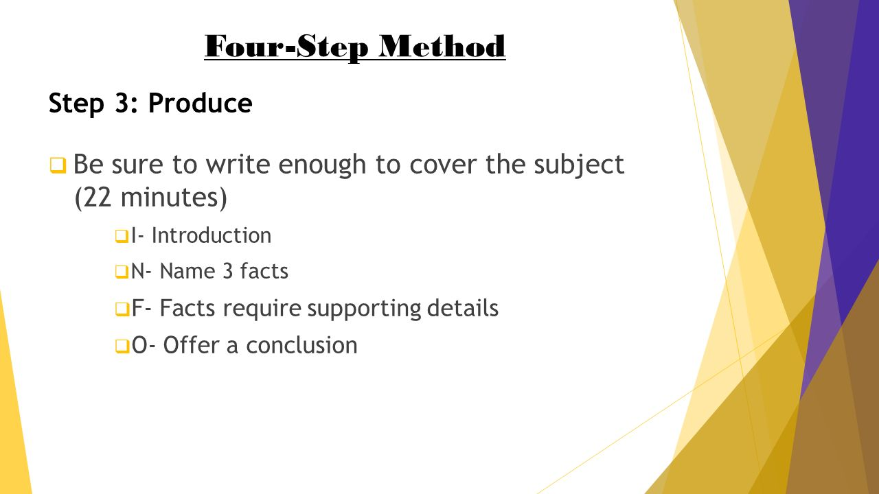 how to write a winning reflective narrative essay in minutes to write enough to cover the subject 22 minutes 61553 i introduction 61553 n 3 facts 61553 f facts require supporting details 61553 o offer a conclusion
