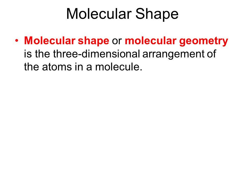 Chapter 13 Molecular Shapes VSEPR Theory Molecular Shape – Vsepr Worksheet