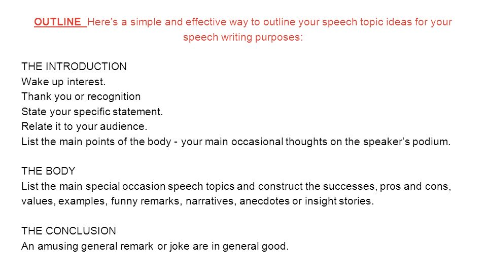 funny informative speech Do you have to make a presentation on an informative speech topic in your school some fun informative speech topics include: funny and absurd patents and.