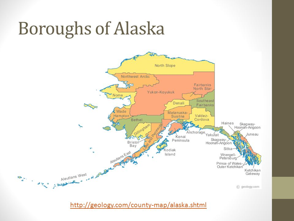 Maps Of Alaska Mapping Activity Regions Of Alaska Ppt Download - Alaska county map