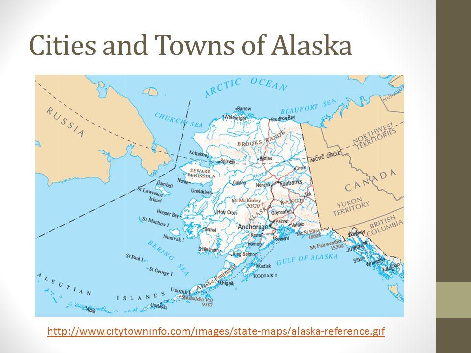Maps Of Alaska Mapping Activity Regions Of Alaska Ppt Download - Map alaska cities