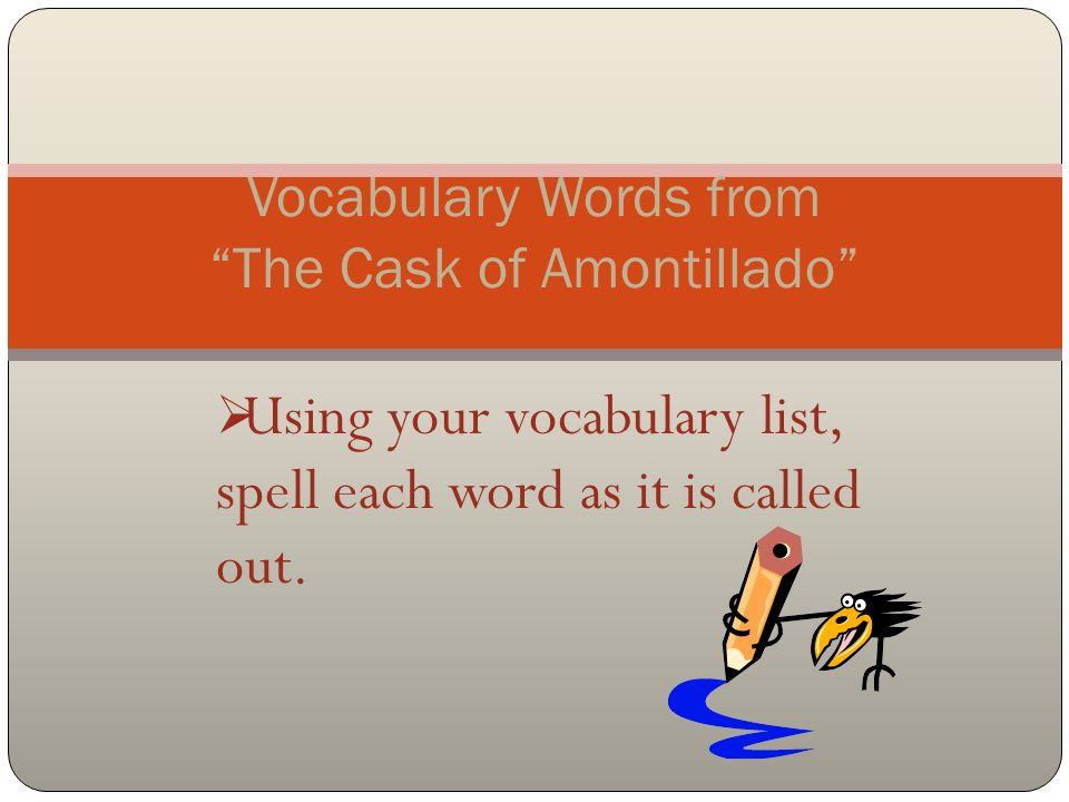 Act vocabulary practice worksheets