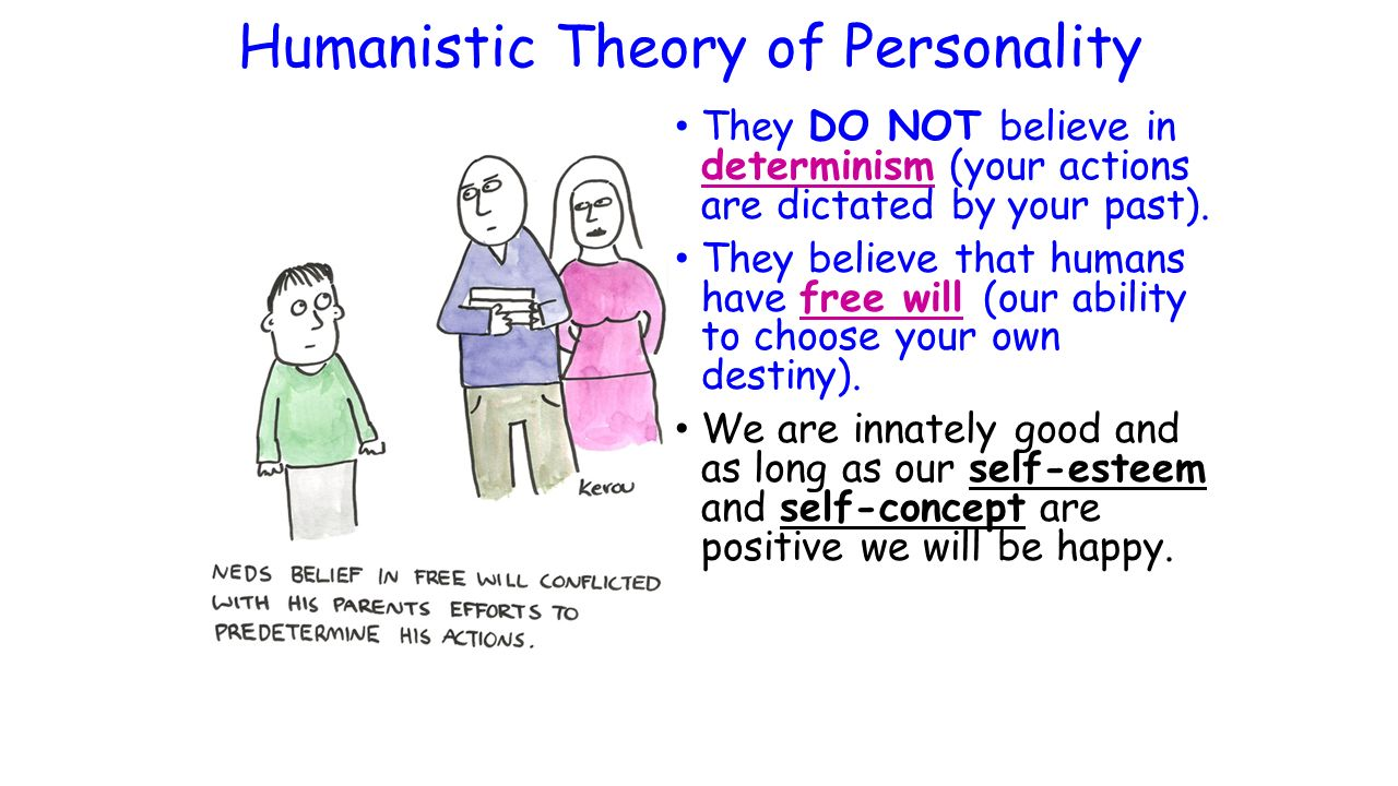 biological vs humanistic approach to personality Humanistic perspectives on personality: last the humanistic approach rests on the complex phenomenological approach to personality.