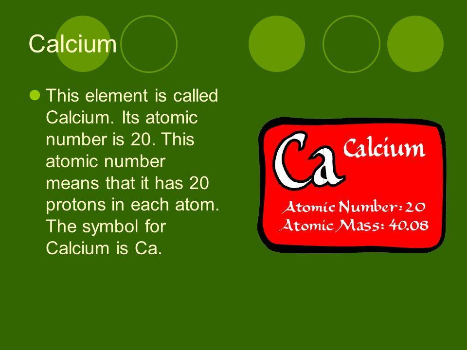 Elements Cobalt And Calcium Cobalt This Element Is Called Cobalt