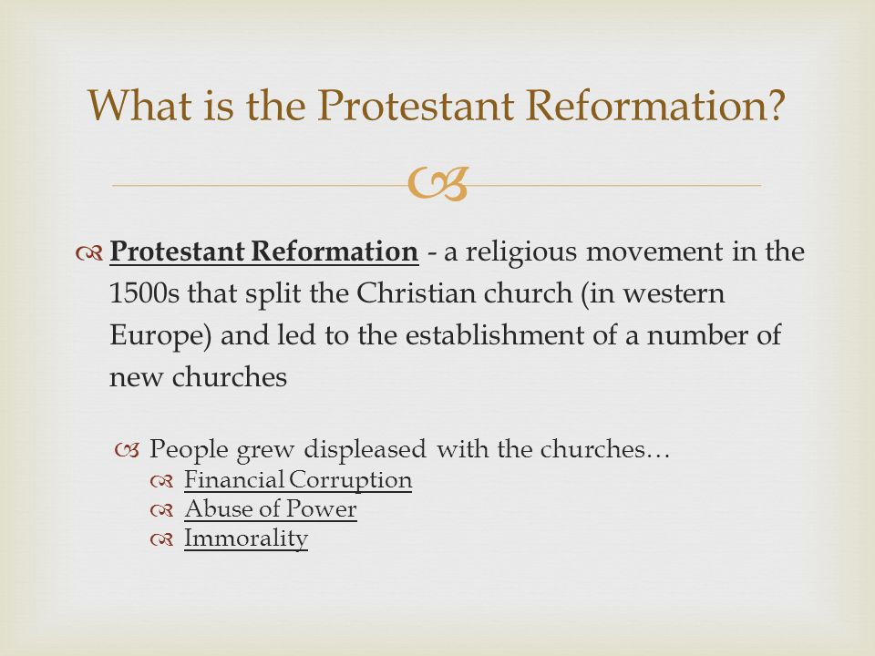 an essay on the reformation movement and protestant ritual Not human a form of apology a an essay on the reformation movement and protestant ritual thing of immortal make classical rome.