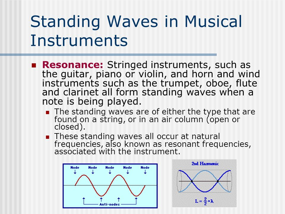 Sound Waves What You Already Know Principle Of Linear Superposition