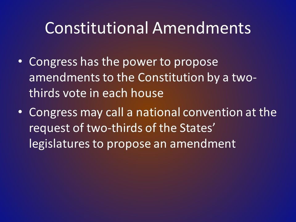 The Powers Of Congress The Scope Of Congressional Power Ppt Download