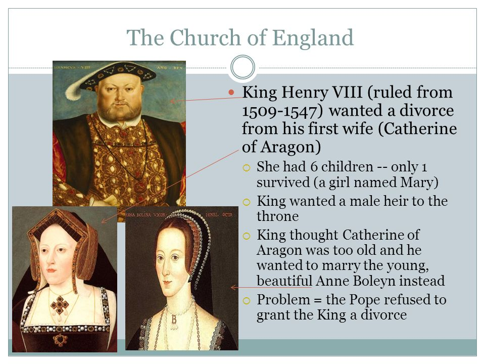 king henry viii and the church Henry viii: dissolving a marriage, splitting the church by the 1520s, henry had become infatuated with anne boleyn, a young woman in his wife's entourage he also worried that his marriage to catherine had been cursed by god because of the old testament ban on marrying the widow of one's brother.