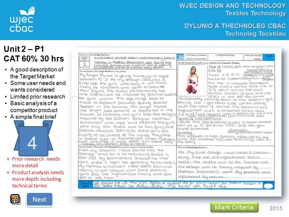 research analysis textiles coursework
