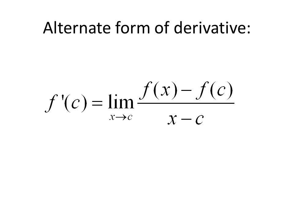 2.1 The Derivative and the Tangent Line Problem. - ppt download