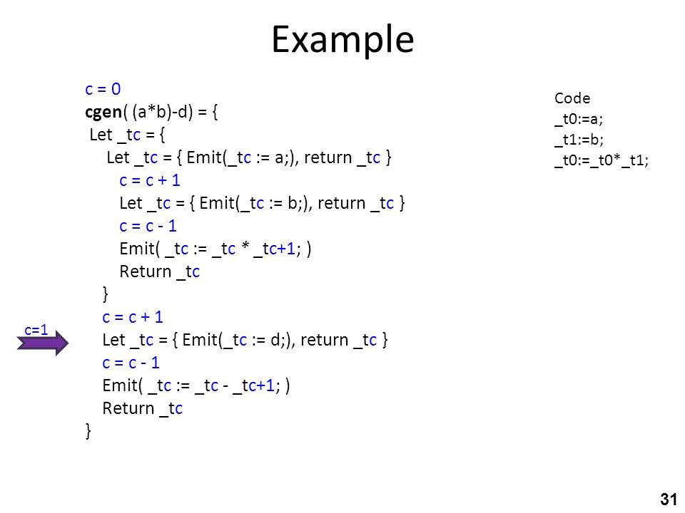 31 Example ...