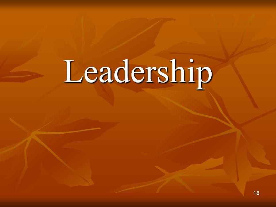 Leadership 18