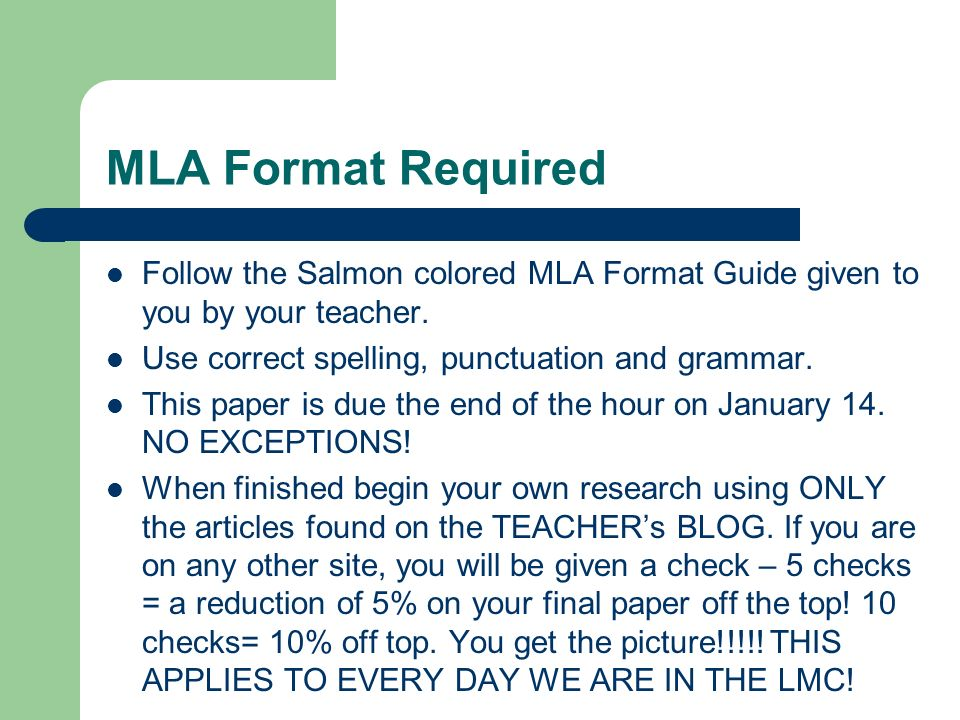 mla writting format Being able to write an essay is a vital part of any student's education however, it's not just about listing ideas in a linear fashion a lot of institutions will require a certain format that your paper must follow prime examples would be the mla, the apa, and the chicago formats.